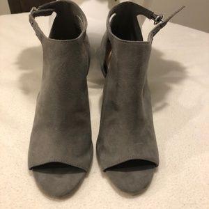 Grey Stiletto Boots